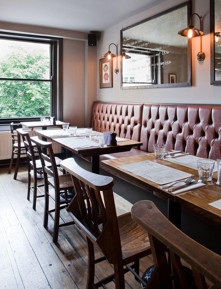 Gastro Pub The Broad Chare interior