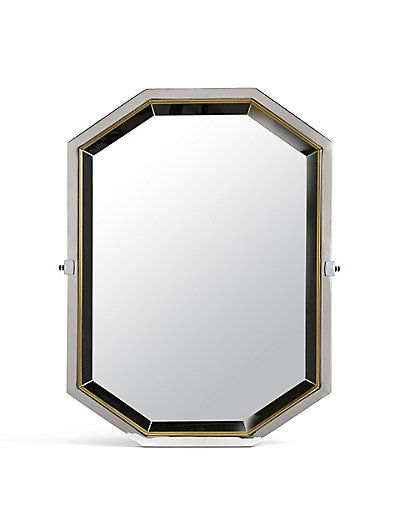 Hollywood Octagon Mirror | M&S