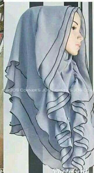 Elaborated hijab