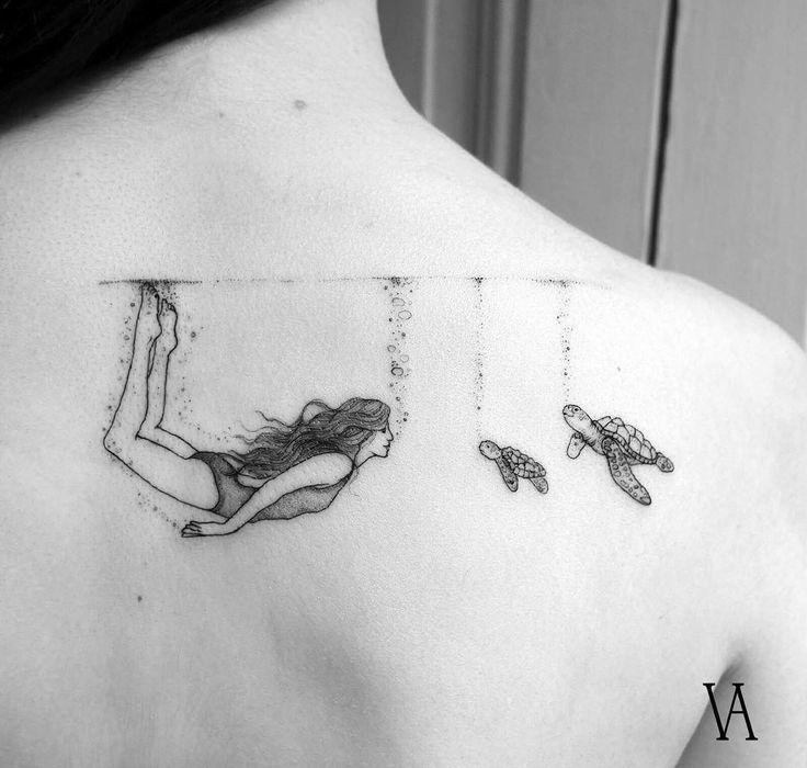 25+ gorgeous Sea tattoo ideas on Pinterest | Anchor, Compass ...