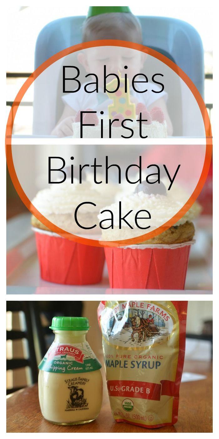 Babies First Birthday Cake