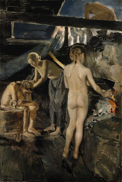AKSELI GALLEN-KALLELA In the Sauna