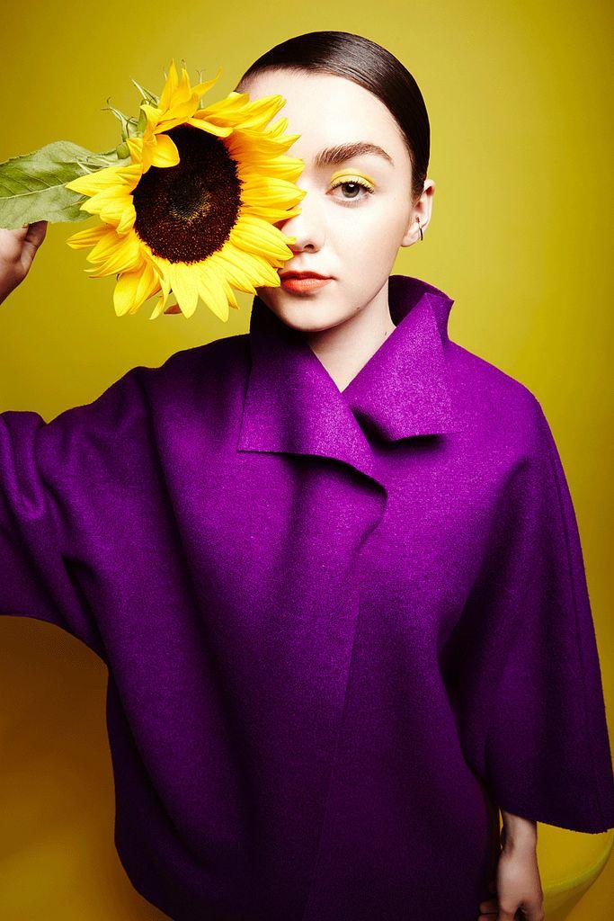 Мэйси Уильямс — Фотосессия для «ES» 2015 – 2