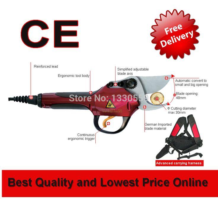 Литиевая батарея виноградник и фруктовый сад электрические ножницы (Сертификат CE)