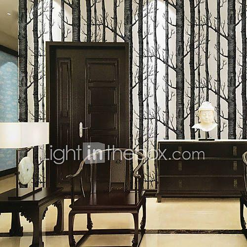 Art Deco 3D Tapety Dla domu Współczesny Tapetowanie , Inny Materiał klej wymagane Tapeta , Pokój tapet 5643220 2017 – $41.99