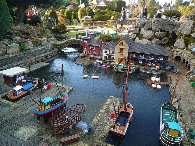Bekonscot Model Village in Beaconsfield, Bucks, UK.     See www.bekonscot.co.uk/ for more details.