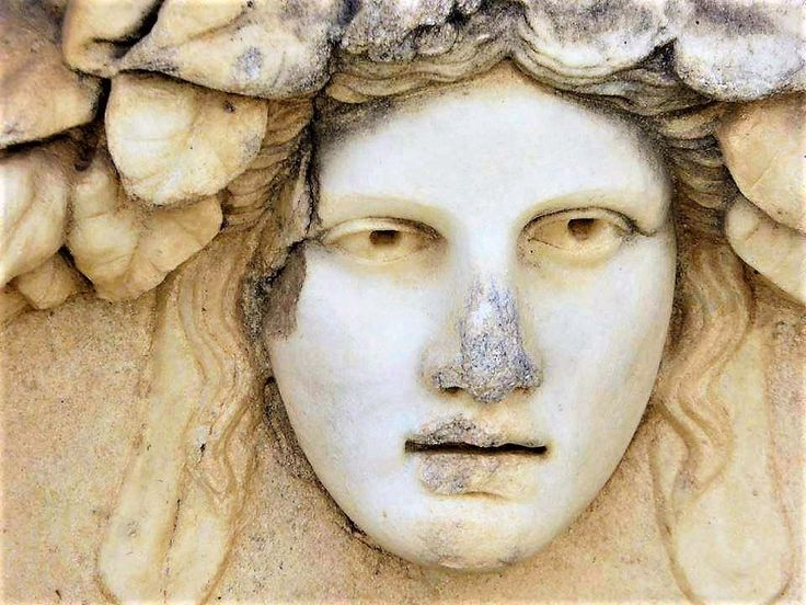 The underlying #beauty of the #Gorgon, #medusa is visible on the sarcophagus from the Hellenistic city of Aphrodisias in western #Anatolia which was once inhabited by #Greeks. What occurred following her transformation....one of  #Greek mythology's feared creatures.