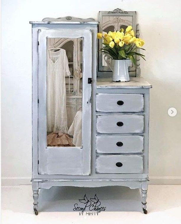 Chicago Grey In 2019 Annie Sloan Painted Furniture