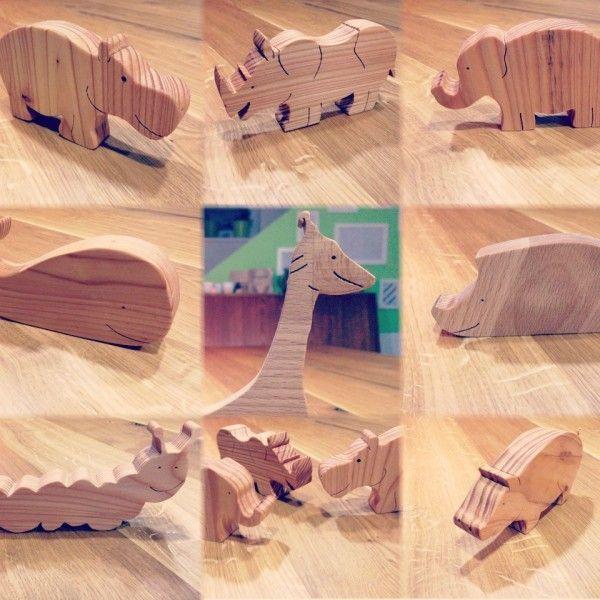 Spielzeugtiere aus Holz sind super. Sie sind stabil, sie fühlen sich toll an, sie sehen toll aus und ein bisschen bio sind sie (hoffentlich) auch noch. Nur leider sind sie, wenn man sie kauft, doch immer recht teuer. Da kann...