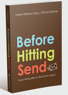"""Writing tips for Real Estate agents before you hit """"send"""" on your email. #realestate #realtor #business"""