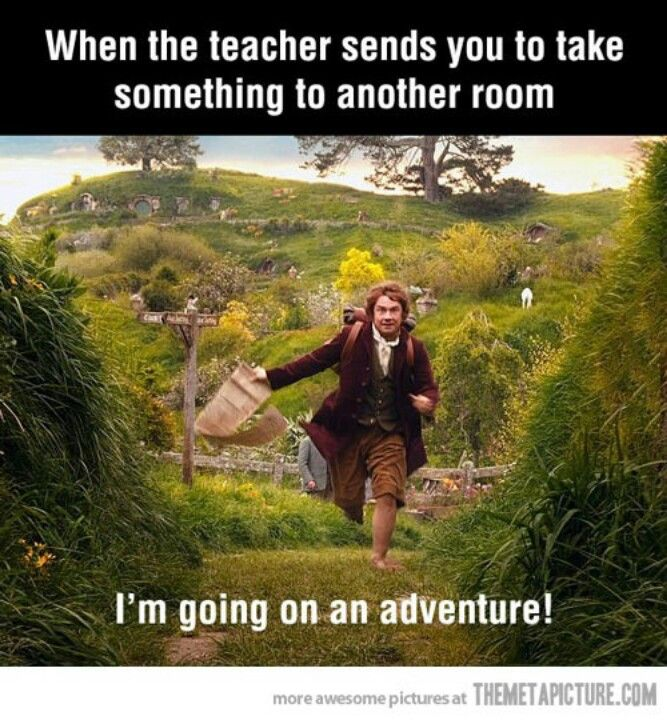 the good ol daysAdventure, Remember This, Schools, Funny Pictures, The Hobbit, Funny Stuff, So True, Teachers, Thehobbit