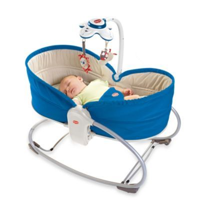 Tiny Love™ 3-in-1 Rocker Napper in Blue - BedBathandBeyond.com