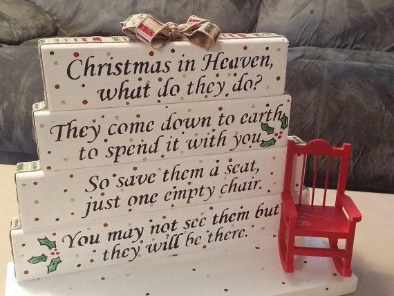 Best christmas in heaven poem ideas on pinterest