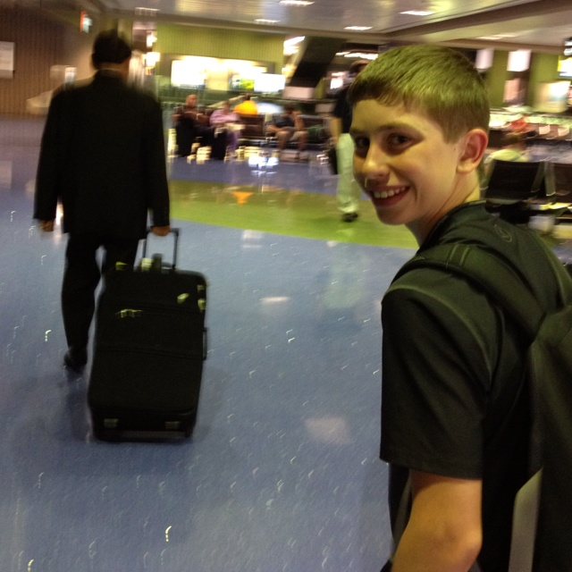 Will likes Frank handling the bags