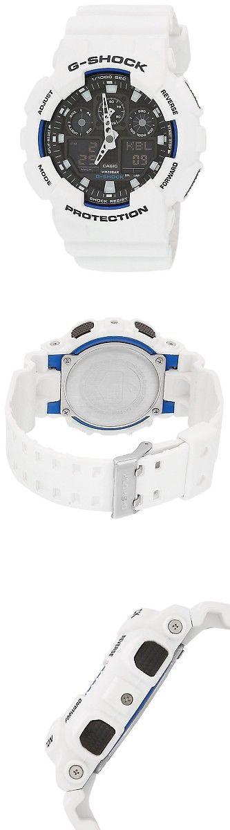 Wristbands 106113: Casio Men S G-Shock Ga100b-7A White Resin Quartz Watch -> BUY IT NOW ONLY: $78.21 on eBay!