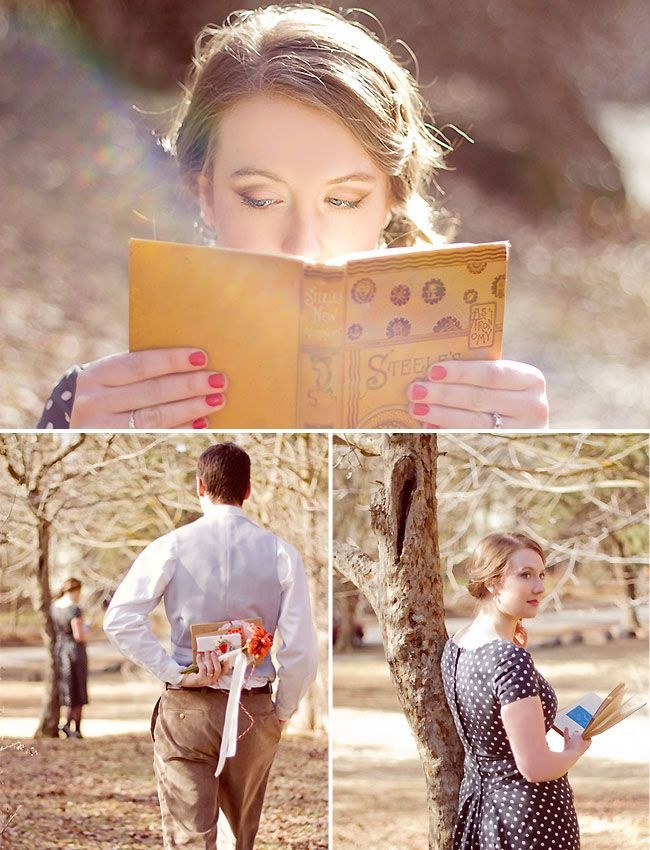 Valentine photo shoot inspired by Paul & Julia Child