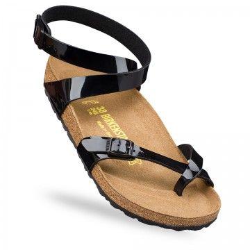 Sandales Avec Sangle Noir Birkenstock Yara CS174Kc1