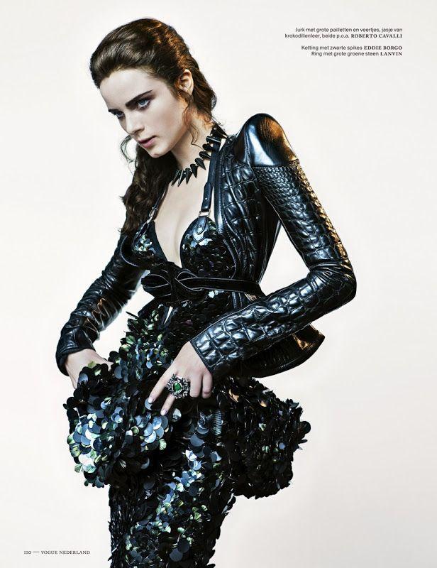 Neo Victorian ~ Vogue Netherlands, November 2012, photos by Marc de Groot