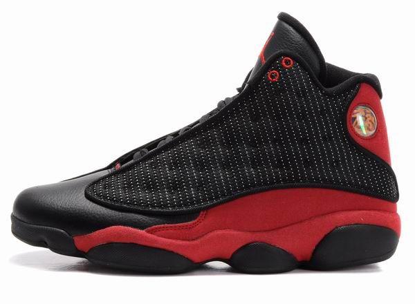Air Jordan 13 Retro Shoes Black Red ... 2a3590192