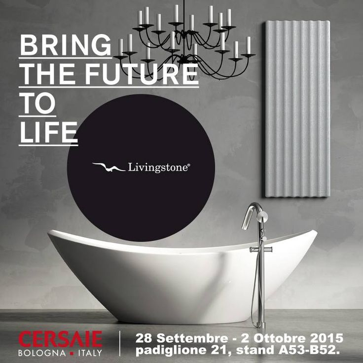 Cersaie2015, International Exhibition of Ceramic Tile and Bathroom Furnishings.  #cersaie #cersaie2015 #design #radiators #radiatori #termoarredo #design #madeinItaly