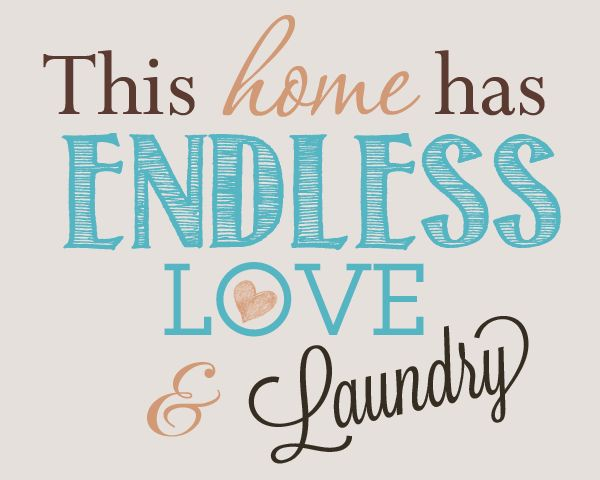 Laundry Room Decor Print (8x10) FREE printable