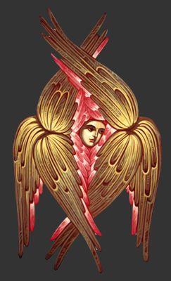 Byzantine Icon of Seraphim   Flickr - Photo Sharing!