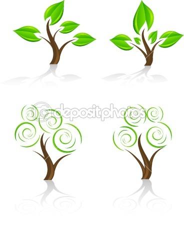 tree vector. I like the bottom designs