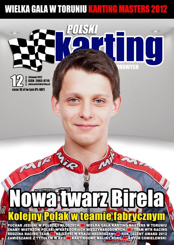 Michał w Magazynie Polski Karting