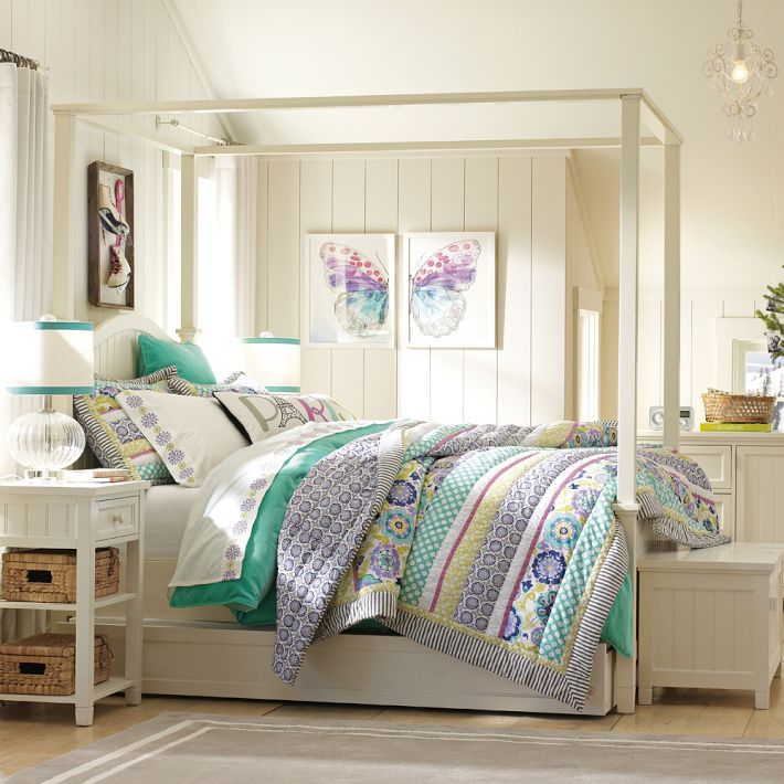 17 best ideas about teen canopy bed on pinterest teen for Barn style bedroom ideas