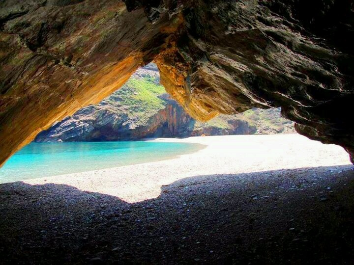 Secret beach in Evia island