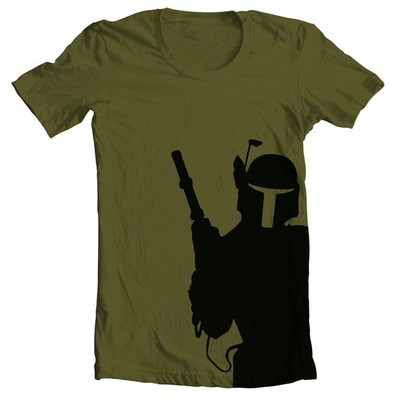 Mens Star Wars Boba Fett Shirt by MixedTees on Etsy, $19.95 for my star wars  nerd :)