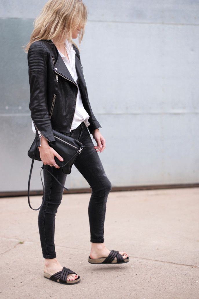 Love this jacket (but really hate the shoes, I'm not into this trend at all!!)