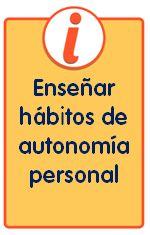 Folletos para familias con consejos para enseñar hábitos de autonomía personal
