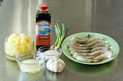 Yummy, Easy Pineapple Skewered Shrimp   Recipe