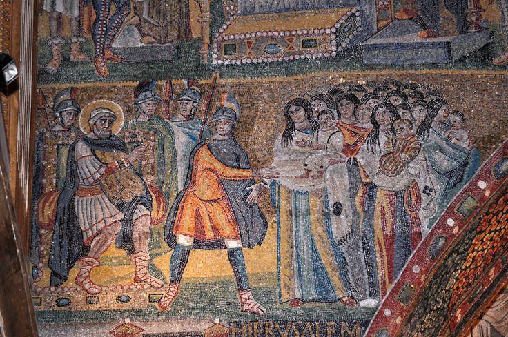 Santa Maria Maggiore, Roma, I mosaici , 432-440. Foto do Pavel Otdelnov