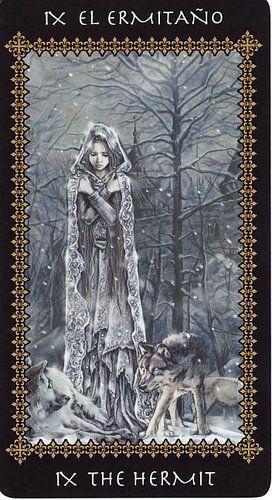 Favole #Tarot by Victoria Frances, #Hermit