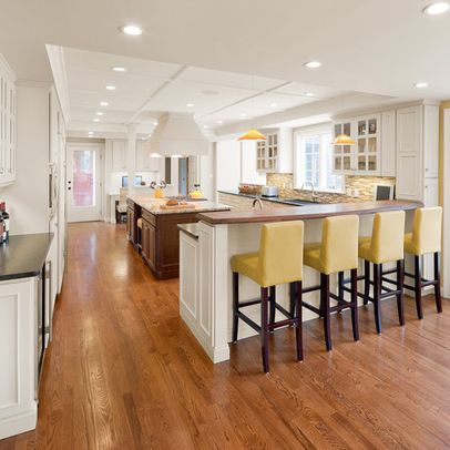 Kitchen Peninsula Design Ideas Pictures Remodel And