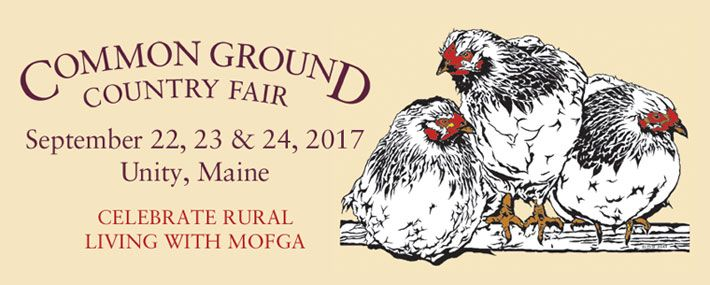 The Common Ground Country Fair - things to to do in Maine - we could take the train here. 9/22-24