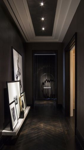 107 best hall images on Pinterest Stairs, Home ideas and Door entry - deco peinture entree couloir