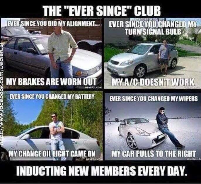 Search custom cars Memes on me.me   Auto Work Meme