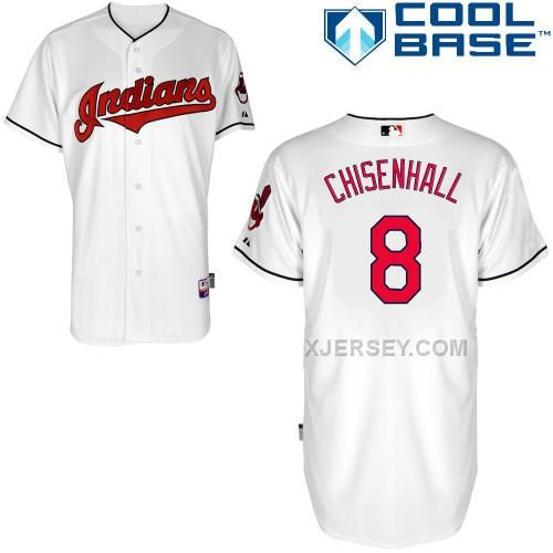 http://www.xjersey.com/indians-8-chisenhall-white-cool-base-jerseys.html INDIANS 8 CHISENHALL WHITE COOL BASE JERSEYS Only $43.00 , Free Shipping!