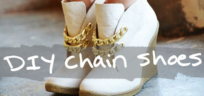 DIY: Chain Booties