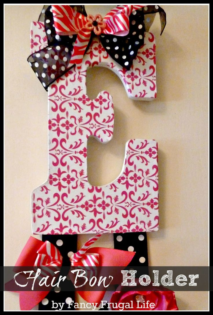 1000  images about hair bow holder on pinterest