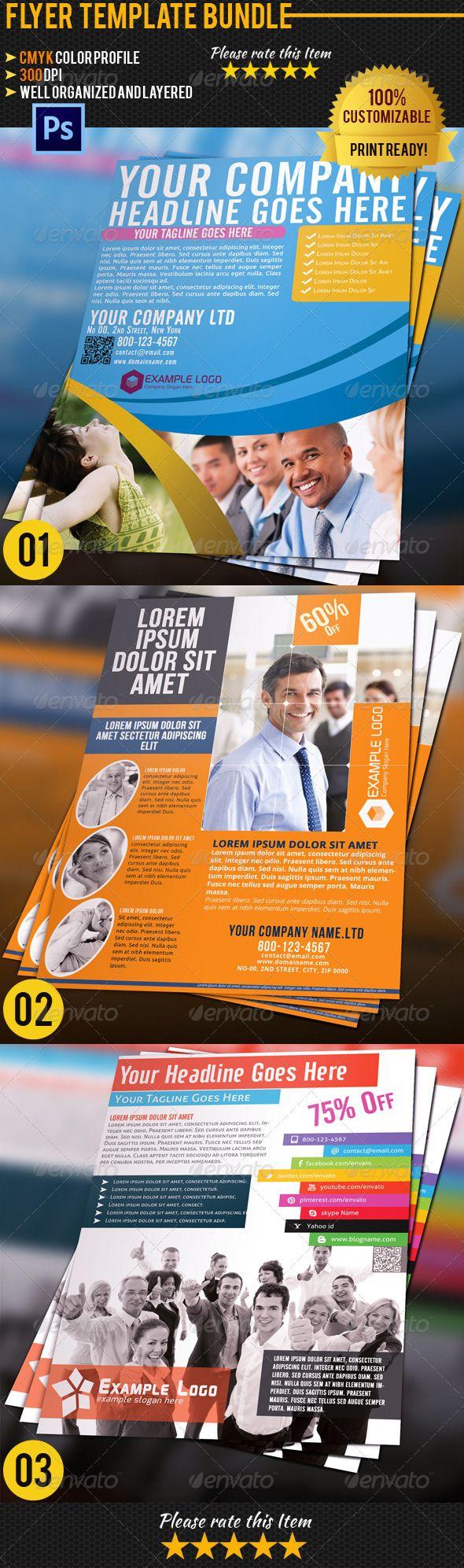 1000 ideas about business flyers business flyer corporate business flyer bundle 03