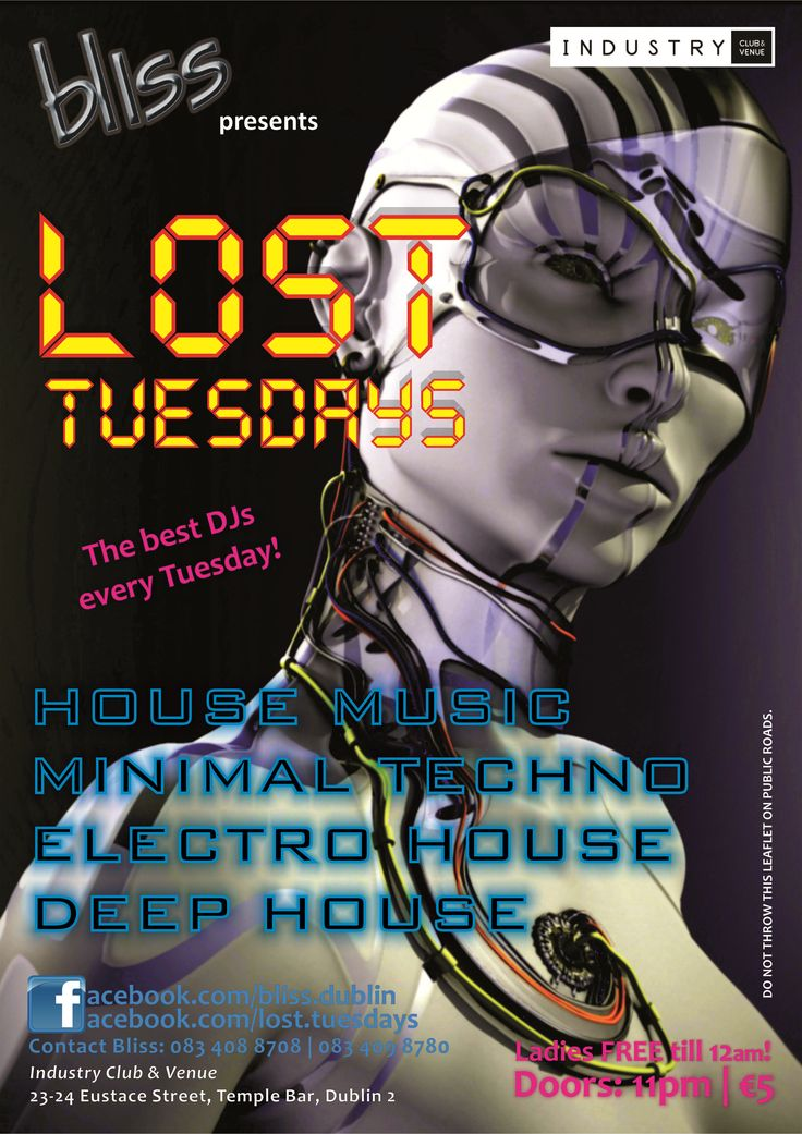 2012.04 Lost Tuesdays Poster