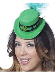 For Parties: Mini St Patricks Hat  #costumes #stpatricksday #hat