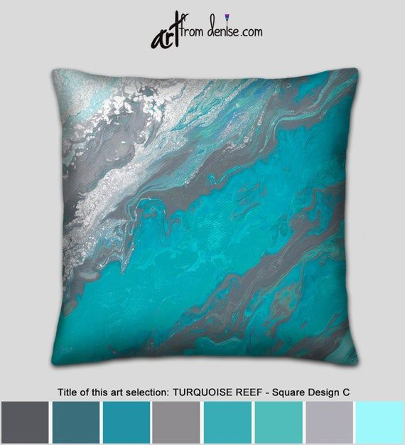 Orange Throw Pillow Covers Three Orange And Turquoise Etsy Orange Throw Pillows Turquoise Pillows Orange Bedding