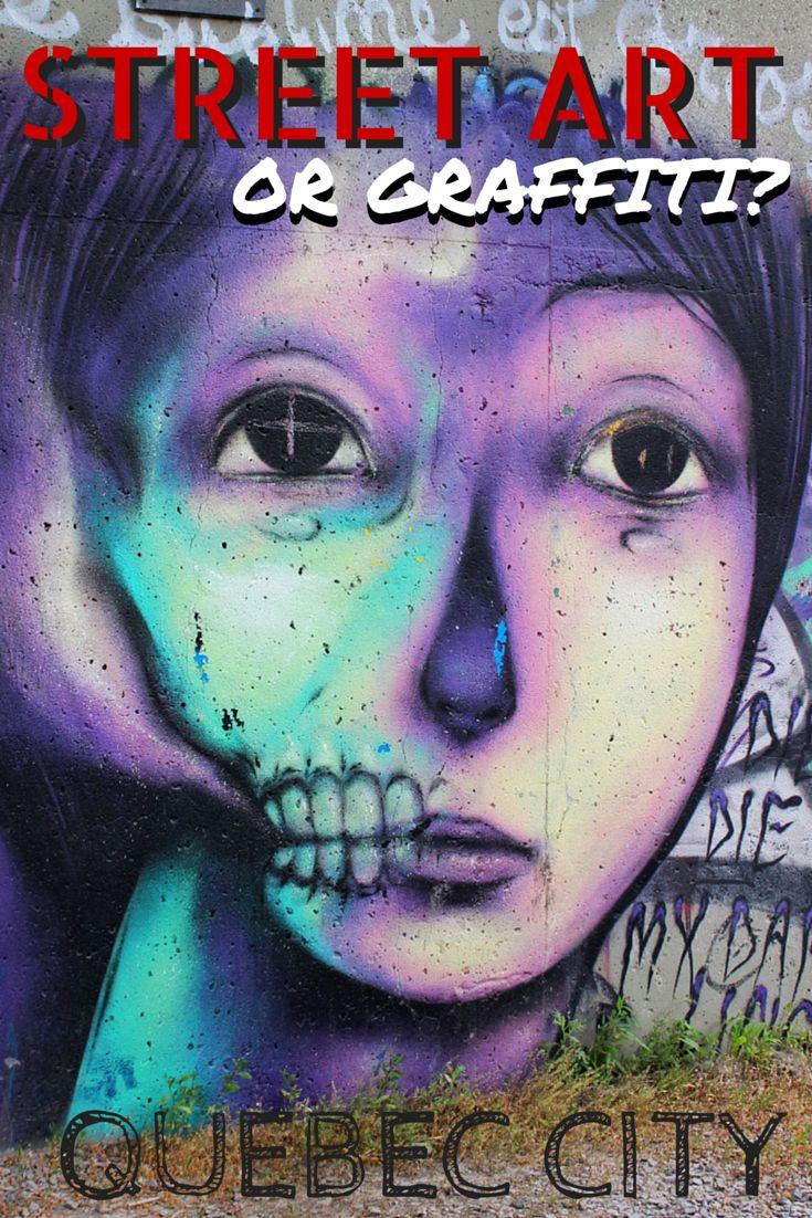 Graffiti art for sale canada - Highway Overpass Graffiti Or Street Art In Quebec City
