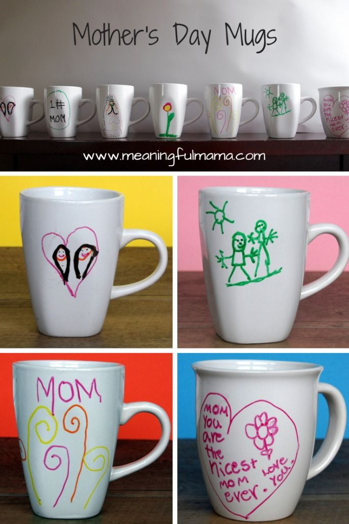 Mother's Day Gifts Mugs Crafts Classroom - Meaningful Mama