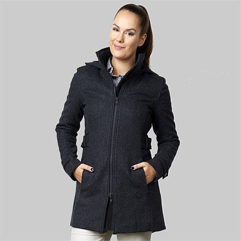 Swanndri Women| Outdoors Everyday | - Swanndri Women's Vancouver 100% Merino Wool Jacket